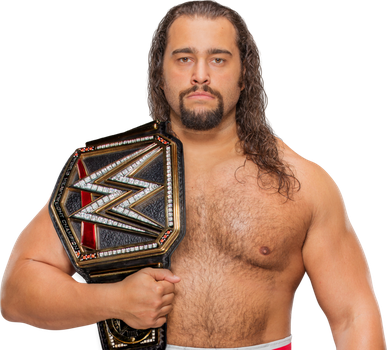 Rusev WWE Champion 2017  by LunaticDesigner