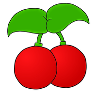 Cherries COLORED by Snowshi