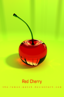 Red Cherry iPhone Wallpaper by THE-LEMON-WATCH