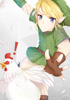 The legend of Cucco by naomochi