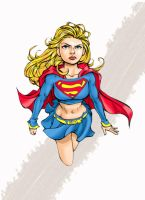 girl in a cape by xryss