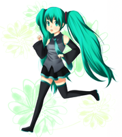 Miku-chan by Let-c