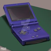 Still Life Study - GBA SP by freakyfir