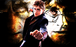 Deathly Hallows Final Battle by suicidebyinsecticide