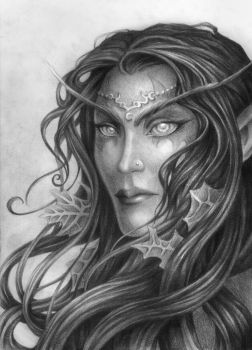 Night Elf *4 years later* by Rali-95