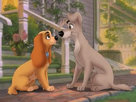 Lady and the Tramp by TUWKA