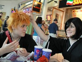Shinigami break time by BleachcakeCosplay