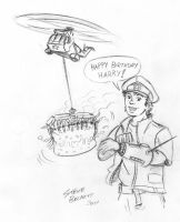 Happy Birthday Harry by Steve3po
