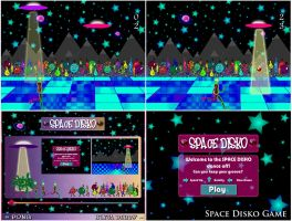 Space Disko Game Collage by hollywood714