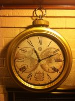 Giant Pocketwatch by CaptainFreetoast