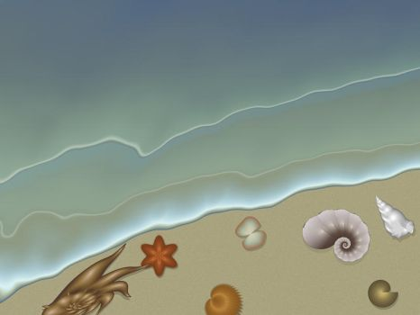 One Day at the Beach by FireLilyFractals