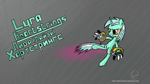 Tribute to Fighting is Magic (Lyra Heartstrings) by chaosmalefic