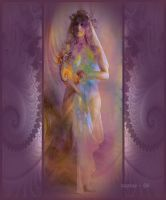 The Fractal Bride by zoozee