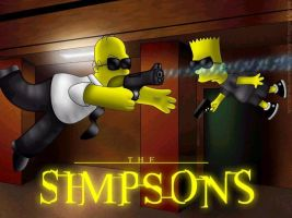 The Simpsons -Matrix Parody by mnraper