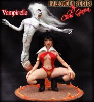Vampirella Halloween Series by ChrisGarcia