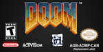 Doom (GBA) Replacement Sticker by CougarLeon2