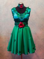 Poison Ivy dress front by SweetSaurona