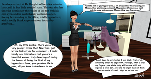 Penelope and the Evil Dentist - Part V by EnglishDamsel