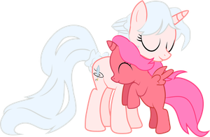 Quila Bloom - Pony Hug by Creshosk