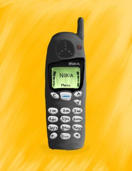 Old Nokia Phone by gravedesires777