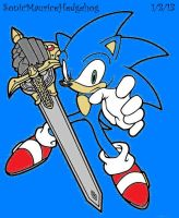 Sir Sonic: Knight of Wind by SonicMauriceHedgehog