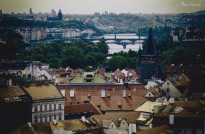 Over the roofs of Prag(II). by Phototubby