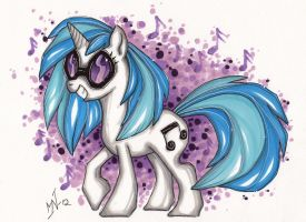 Vinyl Scratch by Kattvalk