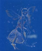 Blue fairy by sanguigna