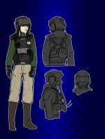 Armored Vehicle Crewmen Uniform by Dehzinn