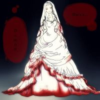 Bloody Marriage with Text by LittleFireflies