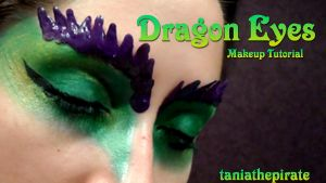 Dragon Eyes Makeup by taniathepirate
