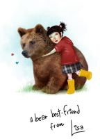 A bear for Mikka.. by meluseena