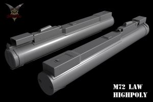 M72 LAW Highpoly 1 by mSkull001
