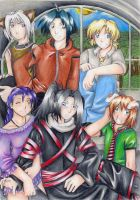 Far Beyond the World Group Pic by Shinigami-chan02