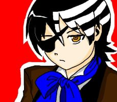 death the kid as ciel by CatViLu