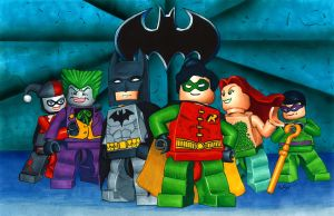 Lego Batman by RachelKaiser