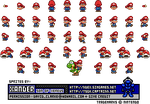 Baby Mario Sprites by Xander-son-of-Xereus