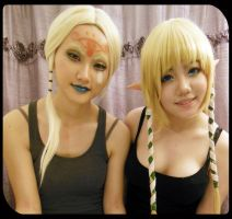 Zelda and Impa another test by hleexyooj
