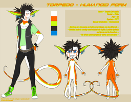 Torpedo Humanoid Reference by Inklash