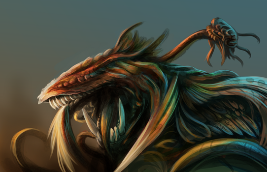 randomness monster speed paint 3 by Soreiya