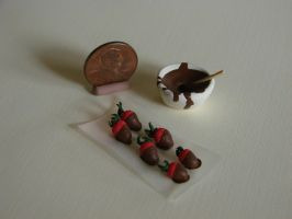 Chocolate Covered Strawberries by birdielover