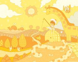 Yellow Adventure by ethe
