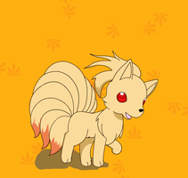 Ninetails by PokeHihi