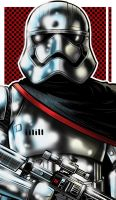 Captain Phasma by Thuddleston
