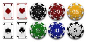 Poker Vector Resources Pack by Sed-rah-Stock