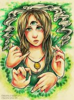 Ganja Girl by RetkiKosmos