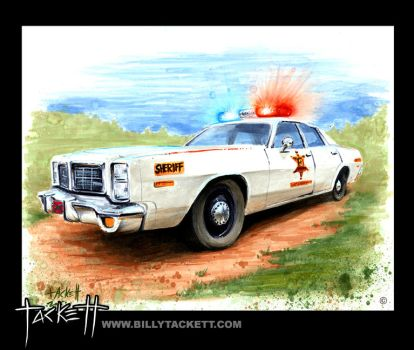 Roscoe P. Coletrane's Patrol Car by billytackett