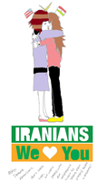 i love Iran and i'm an American by vintageisclassic