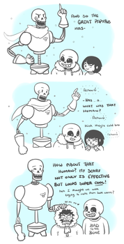 Undertale: Too chill by CaptainClovey