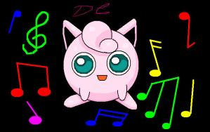 Jigglypuff: MS Paint by Sarky-Sparky